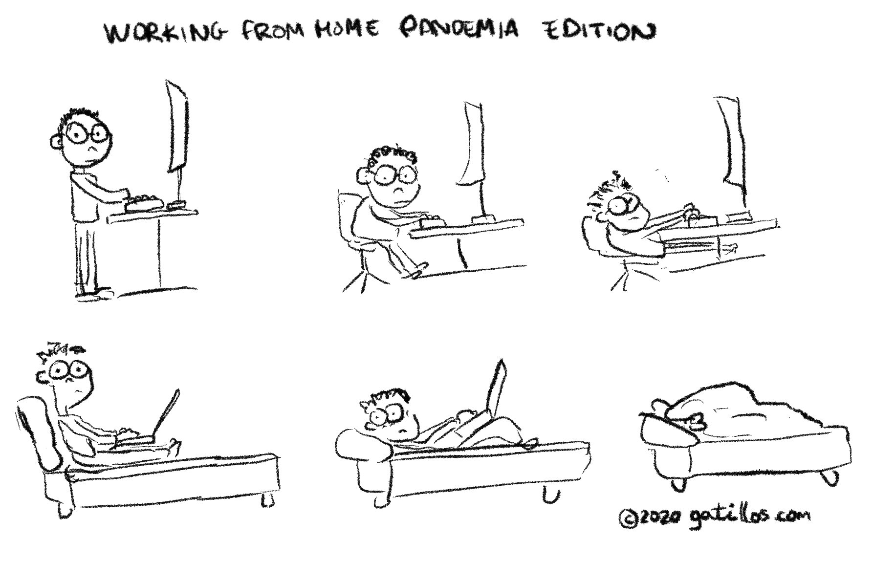Working from home: Pandemia Edition