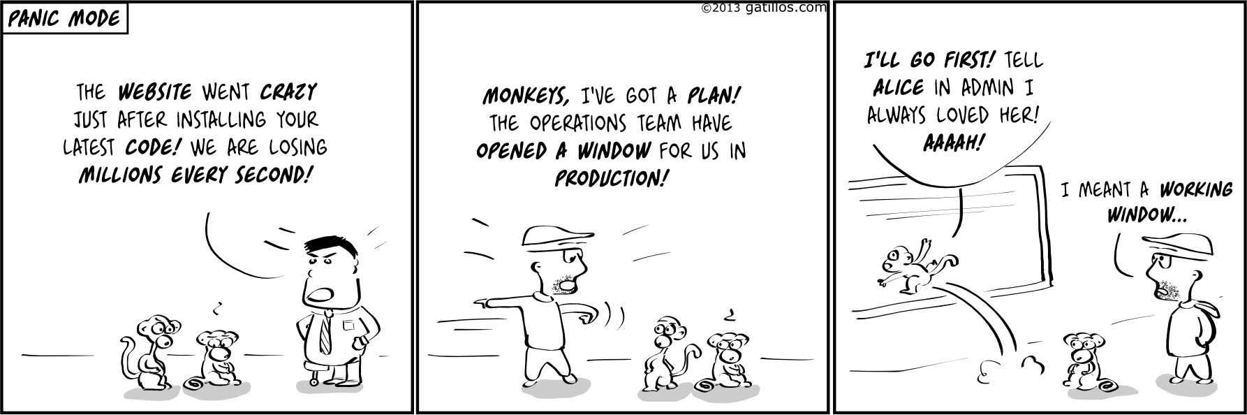 Paul the innovator (67): Panic mode