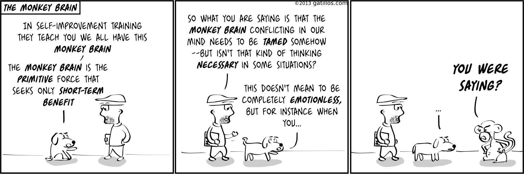 Paul the innovator (69): The monkey brain