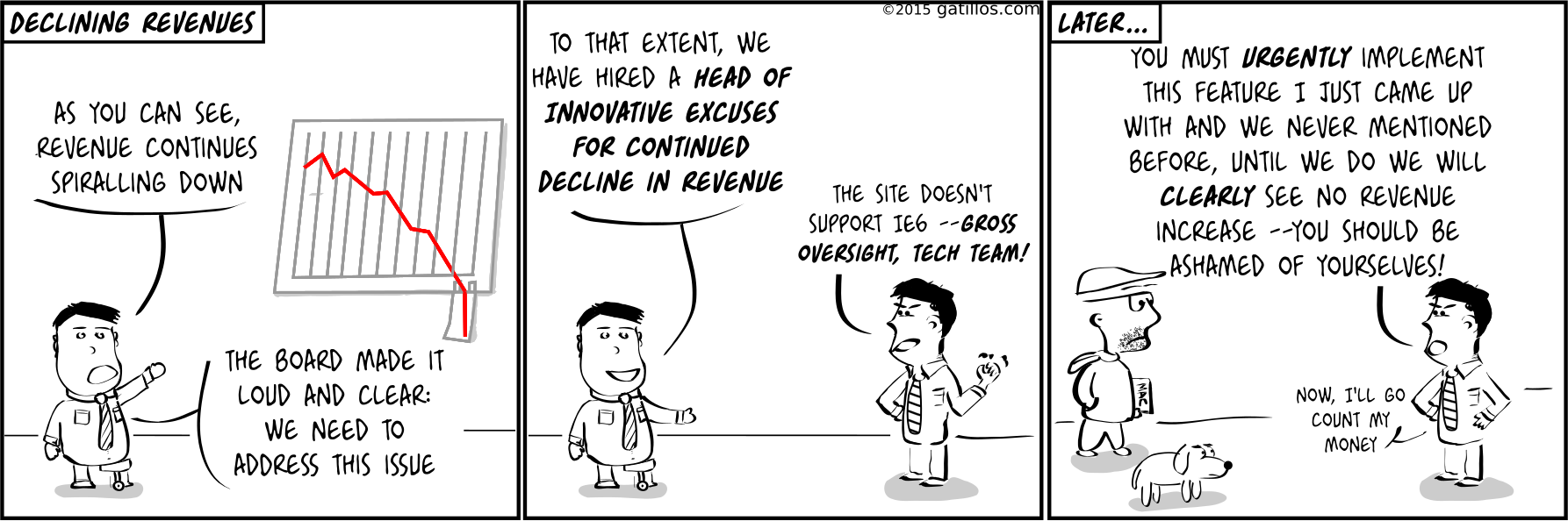 Paul the innovator (78): Declining revenue